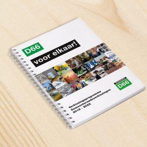 verkiezingsprogramma D66 Woerden 2018 - 2022
